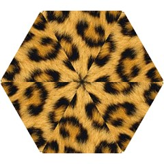 Animal Print Leopard Mini Folding Umbrellas by NSGLOBALDESIGNS2