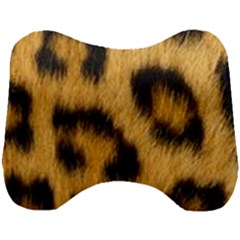 Animal Print Leopard Head Support Cushion by NSGLOBALDESIGNS2
