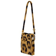 Animal Print Leopard Multi Function Travel Bag by NSGLOBALDESIGNS2