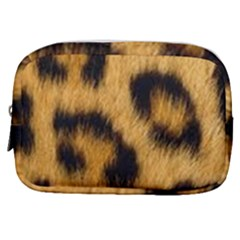 Animal Print Leopard Make Up Pouch (small) by NSGLOBALDESIGNS2