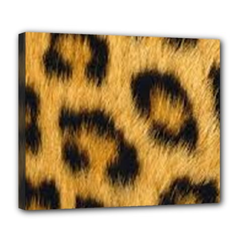 Animal Print Deluxe Canvas 24  X 20  (stretched) by NSGLOBALDESIGNS2