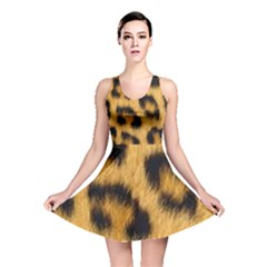 Animal Print Reversible Skater Dress by NSGLOBALDESIGNS2
