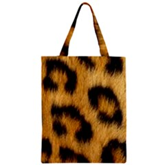 Animal Print Zipper Classic Tote Bag by NSGLOBALDESIGNS2