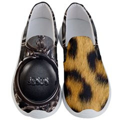 Animal Print Men s Lightweight Slip Ons by NSGLOBALDESIGNS2