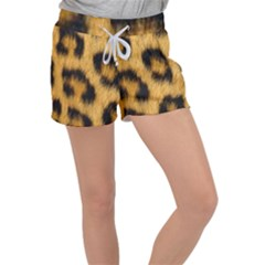 Animal Print Women s Velour Lounge Shorts by NSGLOBALDESIGNS2