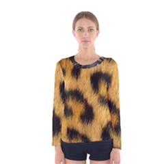 Animal Print 3 Women s Long Sleeve Tee by NSGLOBALDESIGNS2