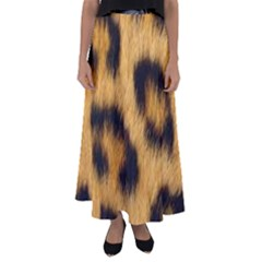 Animal Print 3 Flared Maxi Skirt by NSGLOBALDESIGNS2