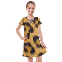Animal Print 3 Kids  Cross Web Dress by NSGLOBALDESIGNS2