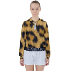 Animal Print 3 Women s Tie Up Sweat by NSGLOBALDESIGNS2