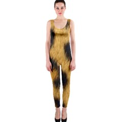 Leopard Print One Piece Catsuit by NSGLOBALDESIGNS2