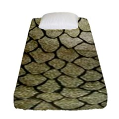 Snake Print Fitted Sheet (single Size) by NSGLOBALDESIGNS2