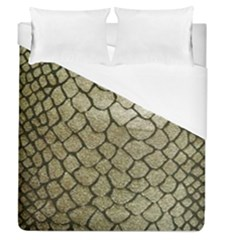 Snake Print Duvet Cover (queen Size) by NSGLOBALDESIGNS2