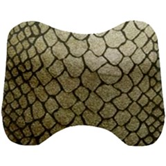 Snake Print Head Support Cushion by NSGLOBALDESIGNS2