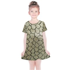 Snake Print Kids  Simple Cotton Dress by NSGLOBALDESIGNS2