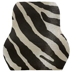 Zebra Print Car Seat Back Cushion  by NSGLOBALDESIGNS2