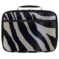 Zebra Print Full Print Lunch Bag by NSGLOBALDESIGNS2