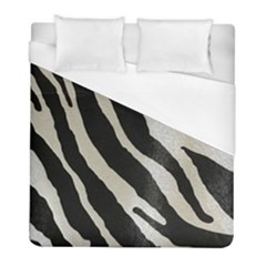 Zebra Print Duvet Cover (full/ Double Size) by NSGLOBALDESIGNS2