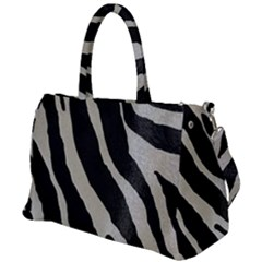 Zebra Print Duffel Travel Bag by NSGLOBALDESIGNS2