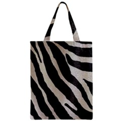 Zebra Print Classic Tote Bag by NSGLOBALDESIGNS2