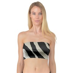 Zebra Print Bandeau Top by NSGLOBALDESIGNS2