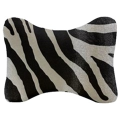 Zebra Print Velour Seat Head Rest Cushion