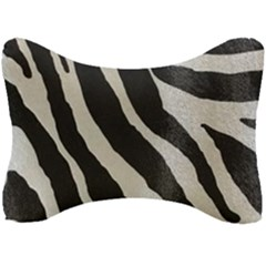 Zebra 2 Print Seat Head Rest Cushion by NSGLOBALDESIGNS2