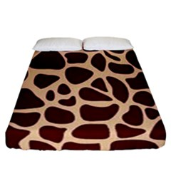 Gulf Lrint Fitted Sheet (california King Size) by NSGLOBALDESIGNS2