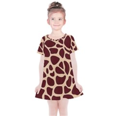 Gulf Lrint Kids  Simple Cotton Dress by NSGLOBALDESIGNS2