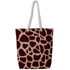 Gulf Lrint Full Print Rope Handle Tote (small) by NSGLOBALDESIGNS2