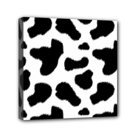 Cheetah Print Mini Canvas 6  X 6  (stretched)
