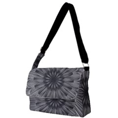 Sunflower Print Full Print Messenger Bag