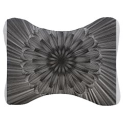 Sunflower Print Velour Seat Head Rest Cushion by NSGLOBALDESIGNS2