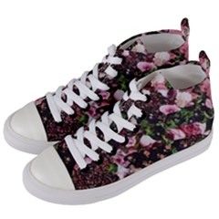 Victoria s Secret One Women s Mid Top Canvas Sneakers by NSGLOBALDESIGNS2