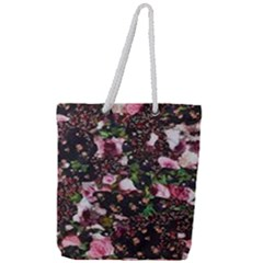Victoria s Secret One Full Print Rope Handle Tote (large)