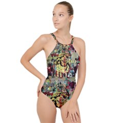 Little Bird High Neck One Piece Swimsuit