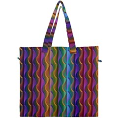 Background Wallpaper Psychedelic Canvas Travel Bag by Samandel