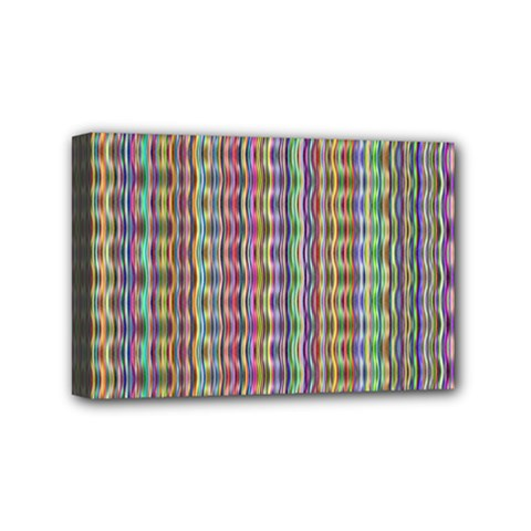 Psychedelic Background Wallpaper Mini Canvas 6  X 4  (stretched)