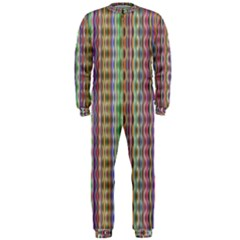 Psychedelic Background Wallpaper Onepiece Jumpsuit (men)
