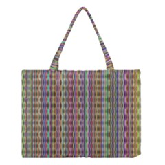 Psychedelic Background Wallpaper Medium Tote Bag by Samandel