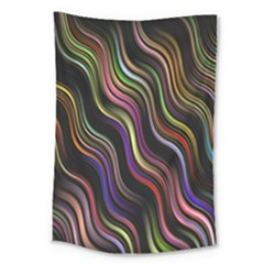 Psychedelic Background Wallpaper Large Tapestry