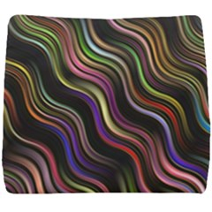 Psychedelic Background Wallpaper Seat Cushion