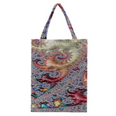 Fractal Artwork Design Pattern Classic Tote Bag