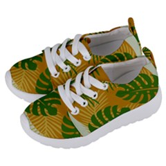 Leaf Leaves Nature Green Autumn Kids  Lightweight Sports Shoes by Samandel
