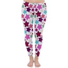 Stars Pattern Classic Winter Leggings