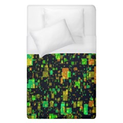Squares And Rectangles Background Duvet Cover (single Size)