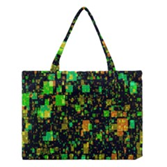 Squares And Rectangles Background Medium Tote Bag by Samandel