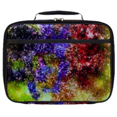 Splashes Of Color Background Full Print Lunch Bag