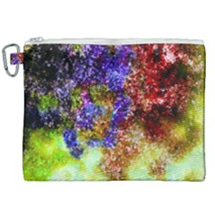 Splashes Of Color Background Canvas Cosmetic Bag (xxl)