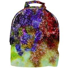 Splashes Of Color Background Mini Full Print Backpack