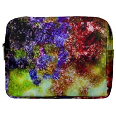 Splashes Of Color Background Make Up Pouch (large) by Samandel